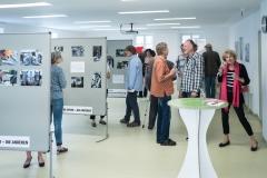 """Die Werksausstellung """"The other"""" im KfJ.Salzburg ist gut besucht. Foto: Jürgen Sturnay"""