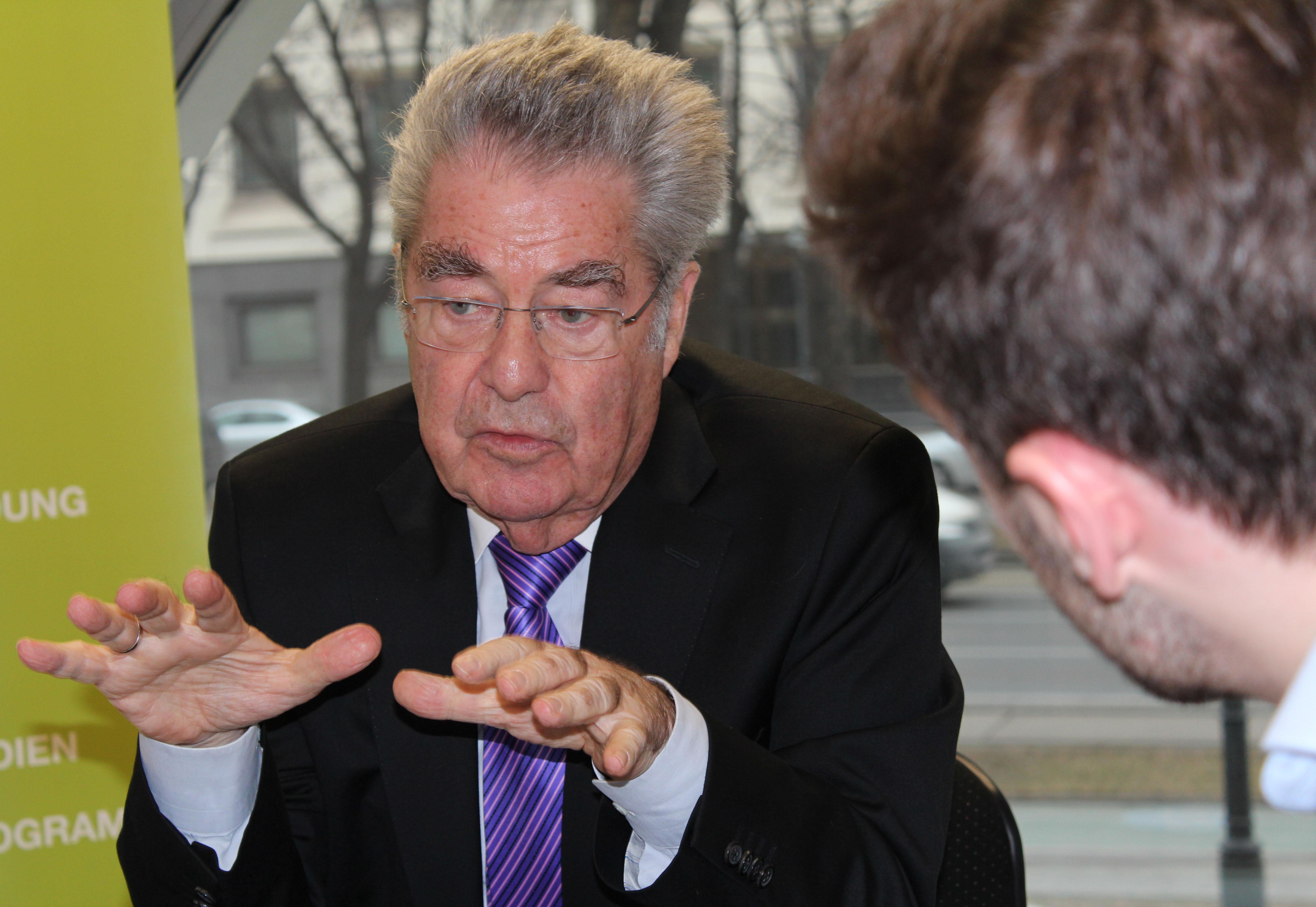 Dr. Heinz Fischer