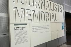 The Newseum's Journalists Memorial, Washington D.C.